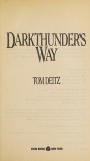 Cover of: Darkthunder's Way | Tom Deitz