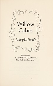 Cover of: Willow Cabin