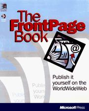 Cover of: Introducing Microsoft FrontPage | Kerry A. Lehto