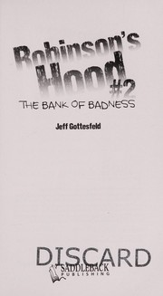 Cover of: The bank of badness