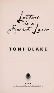 Cover of: Letters to a Secret Lover