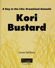 Cover of: Kori bustard | Louise Spilsbury