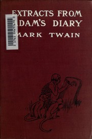 Cover of: Extracts from Adam's diary