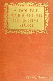 Cover of: A double barrelled detective story