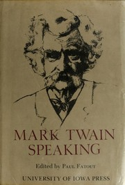 Cover of: Mark Twain speaking