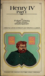 Cover of: King Henry IV. Part 1