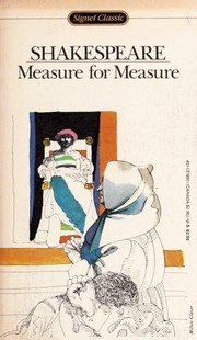 Cover of: Measure for Measure