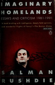 Cover of: Imaginary homelands: essays and criticism 1981-1991