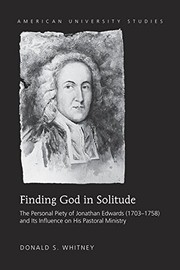 Cover of: Finding God in Solitude |