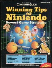 Cover of: Winning Tips For Nintendo: Newest Game Strategies | Editiors of Consumer Guide