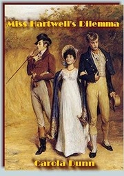 Cover of: Miss Hartwell's Dilemma (A Regency Pair #1)
