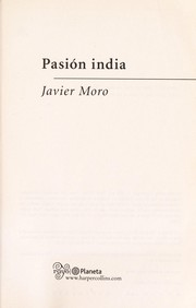 Cover of: Pasion india