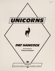 Cover of: Unicorns | Pat Hancock