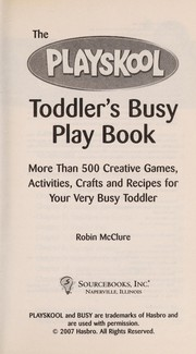 Toddlers busy book