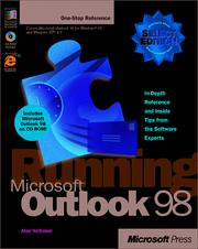Cover of: Running Microsoft Outlook 98 | Alan R. Neibauer