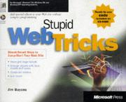 Cover of: Stupid web tricks