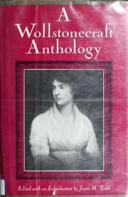 Cover of: A Wollstonecraft anthology