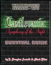 Cover of: Castlevania: Symphony of the Night, Survival Guide