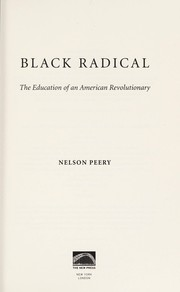 Cover of: Black radical | Nelson Peery
