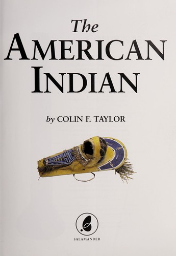 The American Indian by