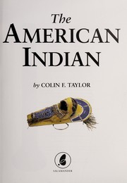 Cover of: The American Indian |