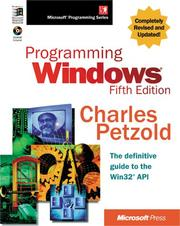 Cover of: Programming Windows