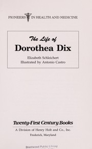 Cover of: The life of Dorothea Dix