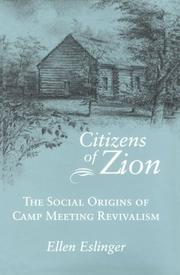 Cover of: Citizens of Zion
