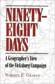 Cover of: Ninety-eight days