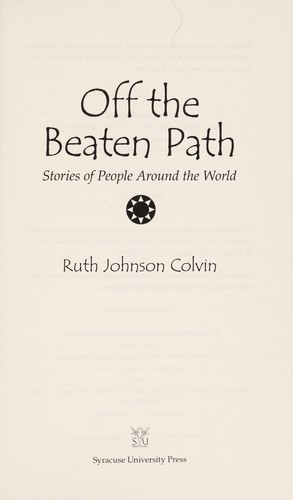 Off the beaten path by Ruth J. Colvin