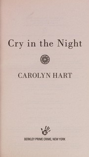 Cover of: Cry in the night
