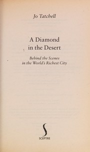 Cover of: A diamond in the desert