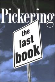 Cover of: The last book