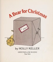 Cover of: A bear for Christmas