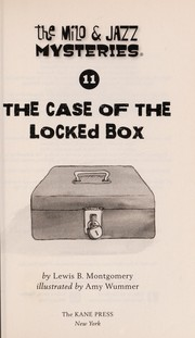 Cover of: The case of the locked box