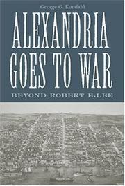 Cover of: Alexandria goes to war