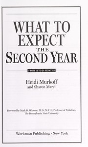 Cover of: What to expect the second year