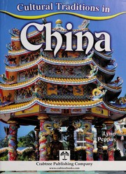 Cover of: Cultural traditions in China | Lynn Peppas