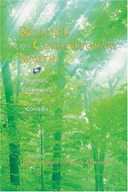 Cover of: Religion in the Contemporary South |