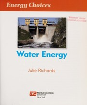 Cover of: Water energy