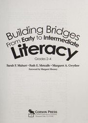 Cover of: Building bridges from early to intermediate literacy, grades 2-4