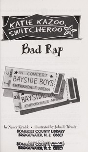 Cover of: Bad Rap | Nancy E. Krulik