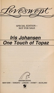 Cover of: One Touch of Topaz