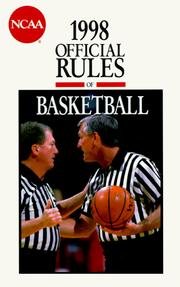 Cover of: The Official Rules of Basketball