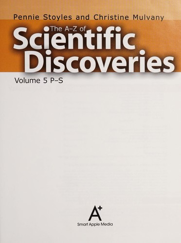 The A to Z of scientific discoveries by Pennie Stoyles