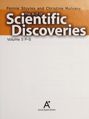 Cover of: The A to Z of scientific discoveries | Pennie Stoyles