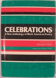 Cover of: Celebrations: A New Anthology of Black American Poetry