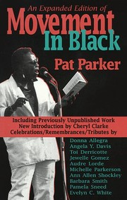 Cover of: Movement in Black | Pat Parker