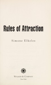 Cover of: Rules of attraction