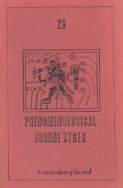 Cover of: Phenomenological